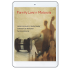 Family Law In Malaysia (eBook) cover