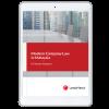 Modern Company Law in Malaysia (eBook) cover