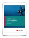 Medical Law and Ethics in Malaysia (eBook) cover