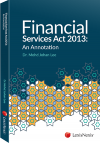 Financial Services Act 2013: An Annotation cover