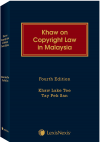 Khaw on Copyright Law in Malaysia, 4th Edition (Soft Cover) cover