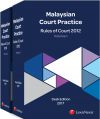 Malaysian Court Practice, Rules of Court 2012, Desk Edition 2017 cover