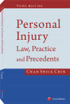 Personal Injury: Law, Practice and Precedents, Third Edition cover