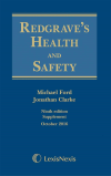 Redgrave's Health and Safety 9th Ed (eBook) cover