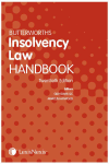 Butterworths Insolvency Law Handbook 20 Ed (eBook) cover