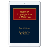 Khaw on Copyright Law in Malaysia, 4th Edition (eBook) cover
