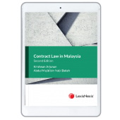 Contract Law in Malaysia, 2nd Edition (eBook) cover