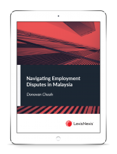 Navigating Employment Disputes in Malaysia (eBook) cover