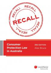 Consumer Protection Law in Australia, 3rd edition (eBook) cover
