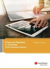 Financial Planning in Australia 2019 Essentials Edition (eBook) cover
