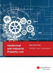 Intellectual and Industrial Property Law, 3rd edition (eBook) cover
