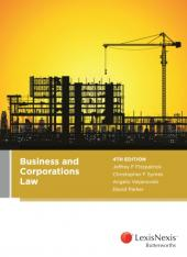 Business and Corporations Law, 4th edition (eBook) cover