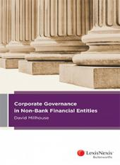 Corporate Governance in Non-Bank Financial Entities (eBook) cover