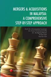 Mergers & Acquisition in Malaysia: A Comprehensive Step-by-Step Approach cover