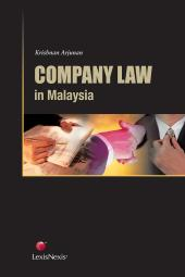 Company Law In Malaysia cover