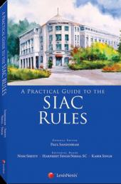 A Practical Guide to the SIAC Rules (eBook) cover