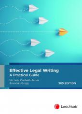 Effective Legal Writing: A Practical Guide, 3rd edition cover