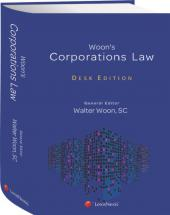 Woon's Corporation Law, Desk Edition  cover