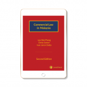 Commercial Law in Malaysia, 2nd Edition (eBook) cover