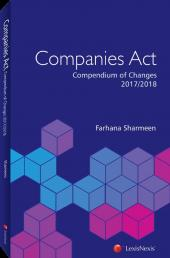 Companies Act Compendium of Changes 2017 / 2018 cover