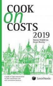 Cook on Costs 2019 (eBook) cover