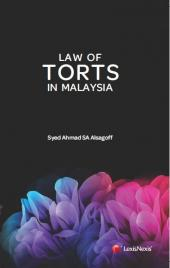 The Law of Torts in Malaysia cover