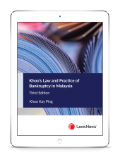 Khoo's Law and Practice of Bankruptcy in Malaysia, Third Edition (eBook) cover