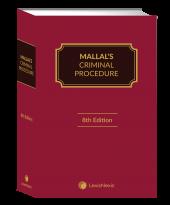 Mallal's Criminal Procedure, 8th Edition (Hard Cover) cover