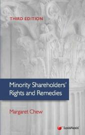 Minority Shareholders' Right and Remedies, Third Edition (eBook) cover