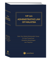 MP Jain's Administrative Law of Malaysia (Soft Cover) cover