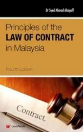 Principles of Law of Contract in Malaysia (Soft Cover) cover