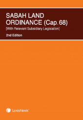 Sabah Land Ordinance (Cap. 68)  With Relevant Subsidiary Legislation  cover