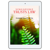Singapore Trusts Law (eBook) cover