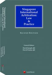 Singapore International Arbitration: Law & Practice, 2nd Edition (eBook) cover