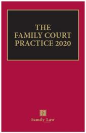 The Family Court Practice 2020 (Red Book) (eBook) cover