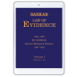 Sarkar Law of Evidence, 2nd Malaysia Edition (eBook) cover