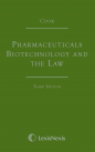 Cook: Pharmaceuticals Biotechnology and the Law 3rd Ed (eBook) cover